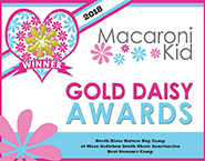 Macaroni Kids 2018 Gold Daisy Award for Best Summer Camp