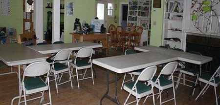 Function room at Oak Knoll Wildlife Sanctuary