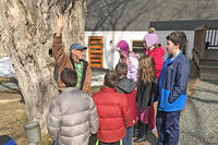 "Oak Knoll volunteer Robert ""Otter"" Brown explains sugaring"