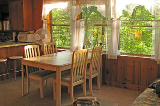 Dining area of Pierpont Meadow Cottage