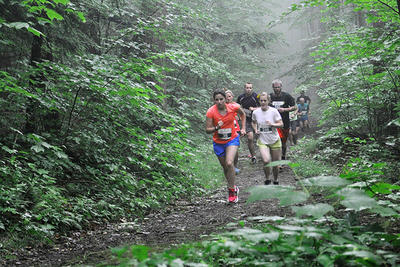 Trail runners during Wild Thing 2018
