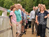 Mass Audubon Board members visiting new boardwalk