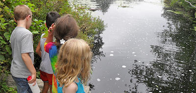 Stony Brook's Tiny Trekkers program in summer