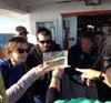 A group program on a boat trip