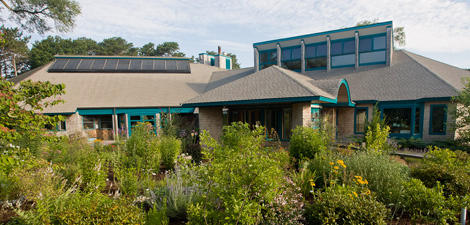 Visitor center at Wellfleet Bay Wildlife Sanctuary