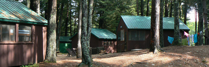 Cabins at Wildwood Camp