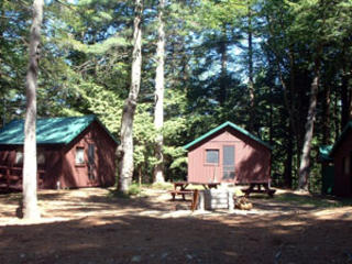 Carson cabins at Wildwood camp