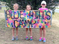 Blue Hills Summer Camp campers