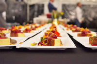 Chef's tasting plate at Moon Over Drumlin 2018 © Sara Colkert Photography