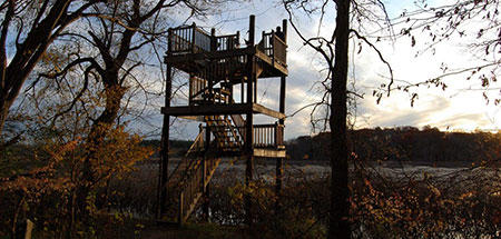 The Observation Tower overlooking Bunker Meadows © Carol J. Decker