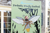"Posing for a ""firefly selfie"" at the Fantastic Firefly Festival"