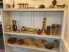 woodturnings on display and for sale