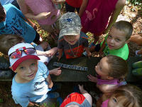 Young campers at North River Nature Day Camp