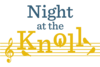 Night at the Knoll logo