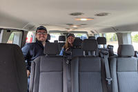 Tidmarsh staff members in the new van