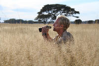 Tony Sinclair in the Serengeti © Terra Mater Films