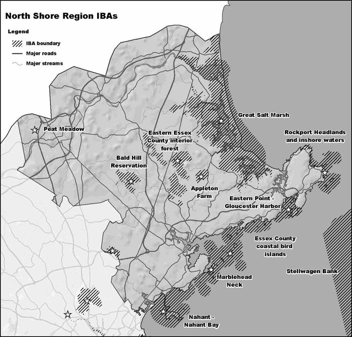 North Shore IBA Region